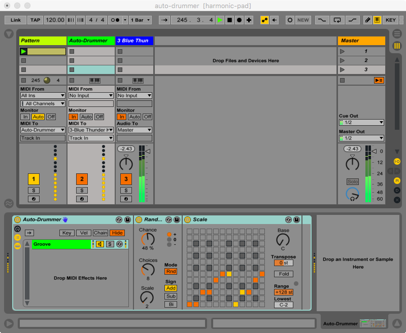 Auto Drummer screen shot