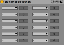 shgp button scene launch