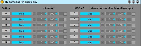 shgp multibutton triggers